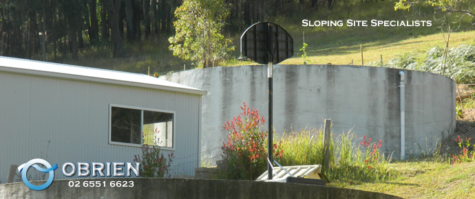 When others say it can't be built we'll get the job done ... we are the sloping site specialists!